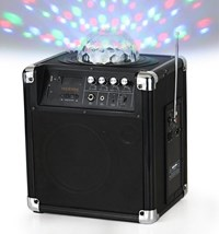 Holy Smoke Portable PA System w/ LED Effect