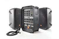 "JBL 8"" 2-Way PA with Powered 8-Channel Mixer + BT"