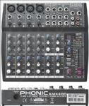 Phonic AM440D 4mic/Line Stereo Mixer