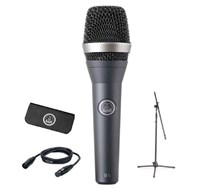 AKG D5 Microphone With 5M XLR-XLR And Mic Stand