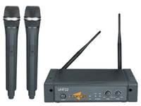E Systems Pro UHF22 Wireless Microphone Set
