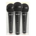 Eikon  DM800 3 Pack Dynamic Microphones