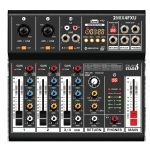 Italian Stage 4FXU 4 Channel Mixer With Bluetooth