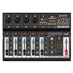 Italian Stage 6FXU 4 Channel Mixer With Bluetooth