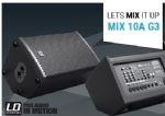 LD Systems Mix 10A G3 Active Speaker/Mixer
