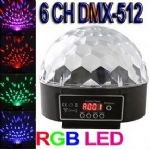 LED RGB CRYSTAL MAGIC BALL